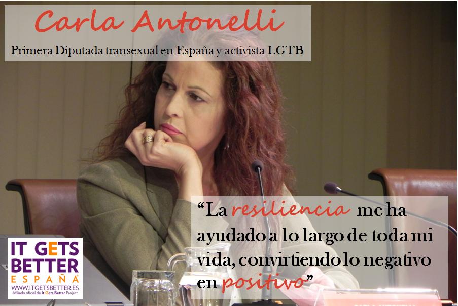 Carla Antonelli - Dia Internacional Visibilidad Trans Marzo 31