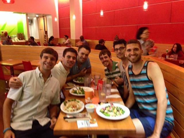 Dinner with IGBP team LA