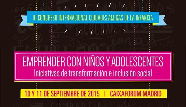 III Congreso de Ciudades Amigas de la Infancia