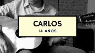 Carlos – 14 años