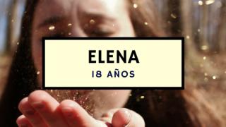 Elena – 18 años