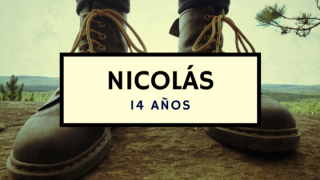 Nicolás – 14 años
