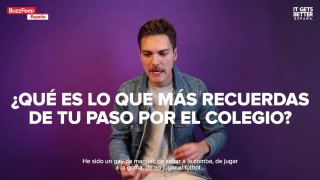 Alberto Jiménez (Miss Caffeina) – It Gets Better España + Buzzfeed España
